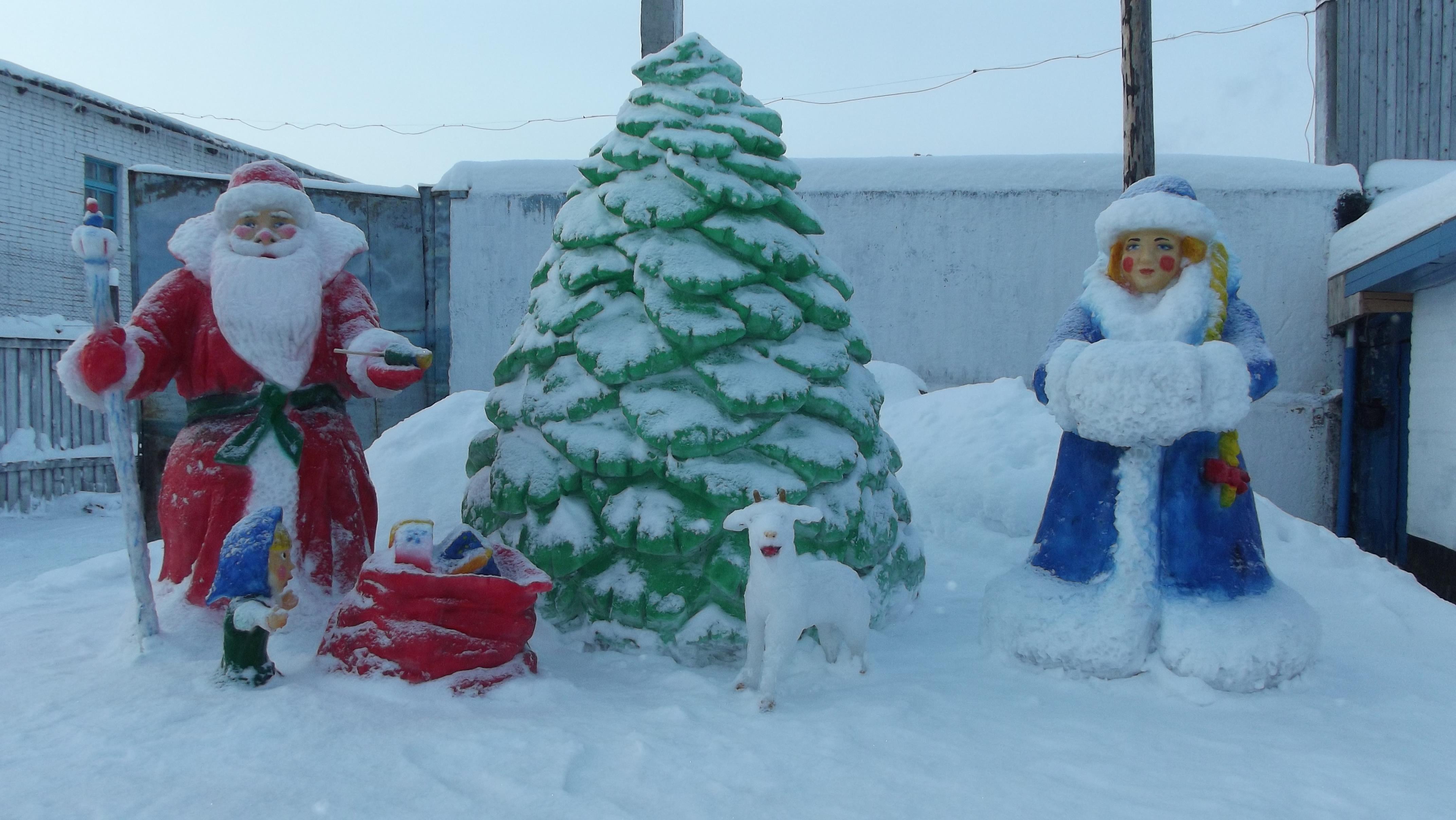 Снежная елочка своими руками