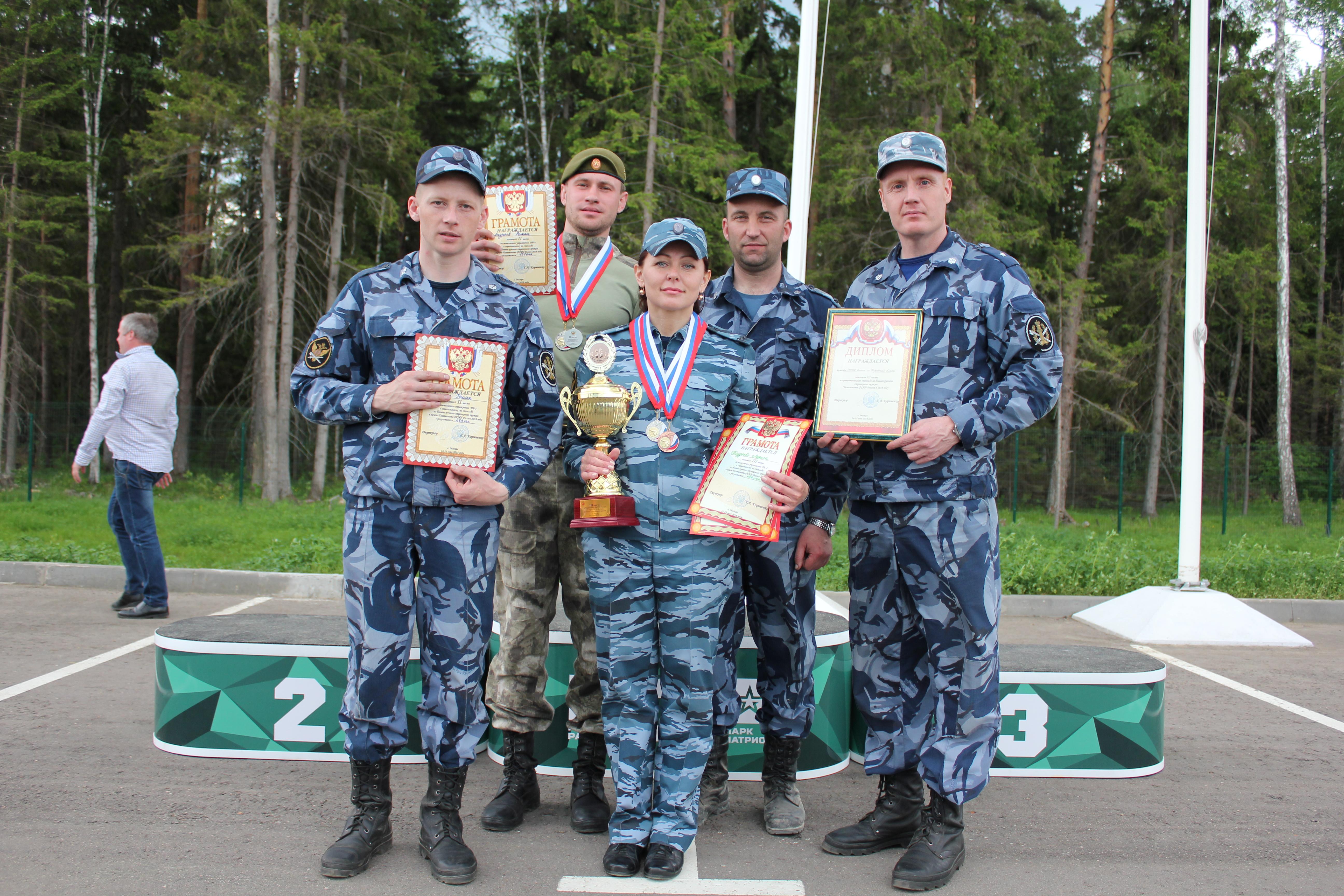 Команда УФСИН России по Кировской области заняла третье место на чемпионате ФСИН России по стрельбе из боевого оружия